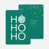 Ho Ho Ho Ornaments - Green