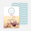 Holiday Garland Photo Cards - Blue
