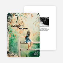 Magical Holiday Cards - Black