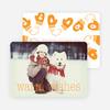 Mittens and Warm Wishes - Orange