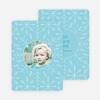 Snowflakes Bring Joy, Peace & Love - Blue