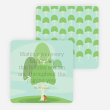 The Joy of Trees Holiday Cards - Green