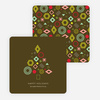 Tree Gems Christmas Cards - Brown