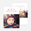 A Simple Merry Christmas Card - Orange