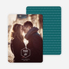Diamond Peace Holiday Photo Cards - White