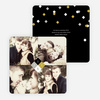 Diamond Star New Year's Photo Cards - Yellow