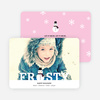 Frozen Christmas Cards - Pink