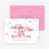It's Beginning to Look a Lot Like Christmas Cards - Pink