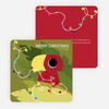 Parrot, Toucan or Cardinal Christmas Cards - Red