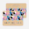 Seeing Stars Hanukkah Cards - Purple