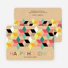 Seeing Stars Hanukkah Cards - Yellow
