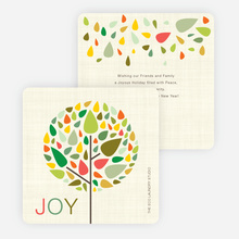 Tree of Life Christmas Cards - Multi