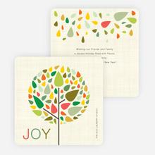 Tree of Life Christmas Cards - Multi
