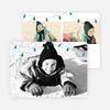 Christmas Lights Christmas Cards - Blue