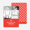 "Fan ""tache"" tic Christmas Cards - Red"