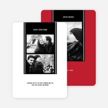 Filmstrip Holiday Cards - Black