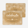 Kraft Snowflake Flurry Holiday Cards - Beige