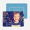 Glad Tidings Holiday Cards - Blue