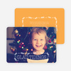 Glad Tidings Holiday Cards - Orange