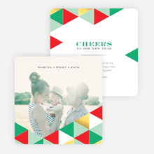 Golden Triangle Holiday Cards - Green