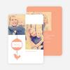 Bird of Joy Custom Holiday Cards - Orange