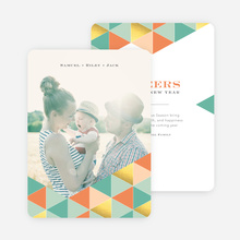 Golden Triangle Holiday Cards - Orange