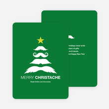 Christache and Movember Holiday Cards - Green