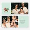 Candles Kwanzaa Cards - Green