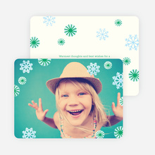 Christmas Photo Cards - Green