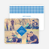 Happy Together Holiday Photo Cards - Blue