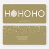 Ho Ho Ho Ornaments - Brown