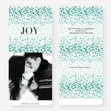 Confetti Cheers New Year's Cards - Green
