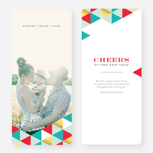 Golden Triangle Holiday Cards - Blue