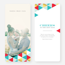 Golden Triangle Holiday Cards - Red