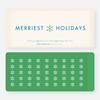 Merriest Holidays - Green