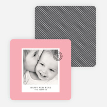 Cards to Put a Stamp on the New Year - Pink