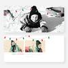 Christmas Lights Christmas Cards - Red
