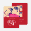 Christmas Cards Filled with Light & Love - Red
