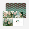 Pine Comb Holiday Cards - Green