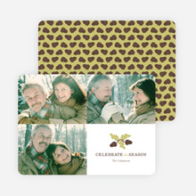 Pine Comb Holiday Cards - Yellow