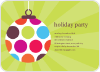 Holiday Ornament Invitations - Front View
