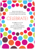 Celebrate! Holiday Invitations - Front View