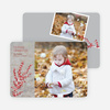 Berry Greetings Holiday Photo Cards - Silver