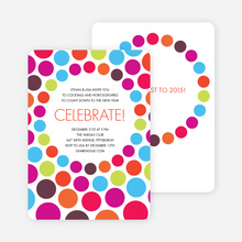 Celebrate! Holiday Party Invitations - Multi