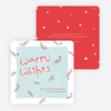 Holiday Cards for Sending Warm Wishes - Red