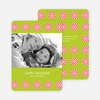 Holiday Sweets Peppermint Photo Cards - Limeade