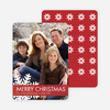 Christmas Snowflake Photo Cards - Main View
