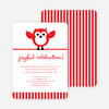 Owl Holiday Party Invitation - Main View