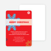 Snowflake Holiday Party Invitations - Main View