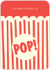 Popcorn Party - Front View